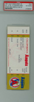 1987 California Angels Full Ticket vs Toronto Blue Jays Fred McGriff Career HR #3 Wally Joyner HR #31  Jesse Barfield HR #139 - May 20, 1987