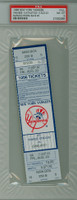 1996 New York Yankees Full Ticket vs Oakland Athletics Mariano Rivera Career Save #5 - August 23, 1996