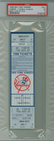 1996 New York Yankees Full Ticket vs California Angels Derek Jeter Career Hit #150 - August 20, 1996