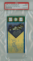 1996 Los Angeles Dodgers Ticket Stub vs San Diego Padres Tony Gwynn Wins 7th Batting Title Padres Clinch NL West  - September 29, 1996