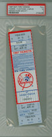 1997 New York Yankees Full Ticket vs Chicago White Sox Mariano Rivera Career Save #11 - April 26, 1997