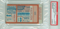 1949 World Series Yankees at Dodgers - Game 3 Ticket Stub HR Roy Campanella, Pee Wee Reese WP Joe Page [VG]