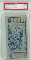 1939 Indianapolis 500 Ticket Stub - Wilbur Shaw May 30 1939 PSA/DNA Authentic