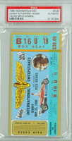 1980 Indianapolis 500 Ticket Stub - Johnny Rutherford May 25 1980 [ARTIX80S_pa_bl] PSA/DNA Authentic