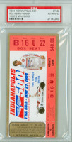 1984 Indianapolis 500 Ticket Stub - Rick Mears May 27 1984 [ARTIX84S_pa_22] PSA/DNA Authentic