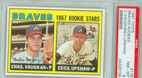 1967 Topps Baseball 179 Braves Rookies