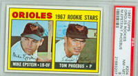 1967 Topps Baseball 204 Orioles Rookies