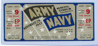 1947 College Football Army vs Navy - Full Ticket November 29
