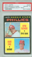 1971 Topps Baseball 439 Phillies Rookies
