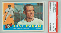 1960 Topps Baseball 67 Jose Pagan ROOKIE