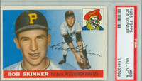1955 Topps Baseball 88 Bob Skinner ROOKIE Pittsburgh Pirates PSA 8 Near Mint to Mint