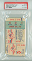1950 World Series Phillies at Yankees - Game 3 Ticket Stub NY 3-2 Ferrick vs Meyer [Y50_SERIES503_pa_60] PSA/DNA Authentic