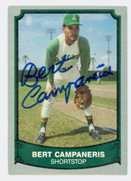 Bert Campaneris AUTOGRAPH 1989 1988|89 Pacific Legends Athletics 
