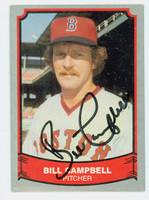 Bill Campbell AUTOGRAPH 1989 1988|89 Pacific Legends Red Sox 