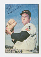 Bob Harrison AUTOGRAPH 1979 TCMA The Fifties Orioles 