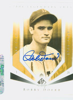 Bobby Doerr AUTOGRAPH 2004 Upper Deck SP Legendary Cuts Red Sox 