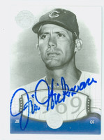 Jim Hickman AUTOGRAPH d.16 2004 Upper Deck Timeless Teams Cubs 