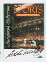 Eddie Mathews AUTOGRAPH d.01 Fleer Greats of the Game Braves CERTIFIED 