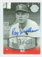 Ray Washburn AUTOGRAPH 2004 Upper Deck Timeless Teams Cardinals 