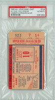 1962 ALL-STAR GAME D.C. Stadium TICKET STUB Roberto Clemente 3 Hits  - July 10, 1962 PSA/DNA Authentic