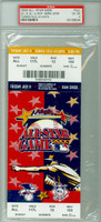2000 ALL-STAR GAME Turner Field FULL TICKET MVP Derek Jeter  - July 11, 2000 Very Good to Excellent