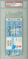 1959 World Series White Sox at Dodgers - Game 4 Ticket Stub LA 5-4 Sherry vs Staley Very Good to Excellent
