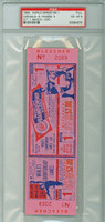 1964 World Series Yankees at Cardinals - Game 1 Full Ticket Stl 9-5 Sadecki vs Ford Near Mint to Mint