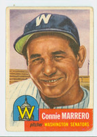1953 Topps Baseball 13 Connie Marrero Washington Senators Fair to Good