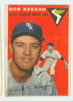 1954 Topps Baseball 100 Bob Keegan Chicago White Sox Fair to Poor
