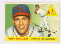 1955 Topps Baseball 55 Rip Repulski St. Louis Cardinals Good to Very Good