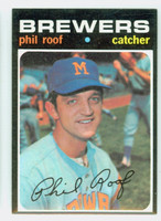 1971 Topps Baseball 22 Phil Roof Milwaukee Brewers Near-Mint