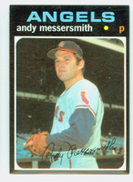 1971 Topps Baseball 15 Andy Messersmith California Angels Near-Mint to Mint