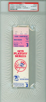 1978 New York Yankees Ticket Stub vs Kansas City Royals ALCS Game 3 NY 6-5  George Brett Hit 3 HRs  - October 6, 1978 PSA/DNA Authentic
