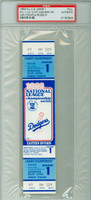 1983 Los Angeles Dodgers FULL TICKET vs Philadelphia Phillies NLCS Game 1 HR Mike Schmidt, WP Steve Carlton  - October 4, 1983 [Y83_BBPLAY_DODG1F_pa_43] PSA/DNA Authentic