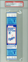 1983 Los Angeles Dodgers FULL TICKET vs Philadelphia Phillies NLCS Game 1 HR Mike Schmidt, WP Steve Carlton  - October 4, 1983 [Y83_BBPLAY_DODG1F_pa_73] PSA/DNA Authentic