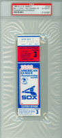 1983 Chicago White Sox Ticket Stub vs Baltimore Orioles ALCS Game 3 Bal 11-1  HR Eddie Murray  - October 7, 1983 PSA/DNA Authentic