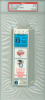 1987 Minnesota Twins Ticket Stub vs Detroit Tigers ALCS Game 2 Min 6-3  Blyleven vs Morris  - October 8, 1987 Very Good to Excellent