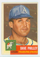 1953 Topps Baseball 64 Dave Philley Single Print