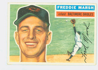 1956 Topps Baseball 23 Freddie Marsh Baltimore Orioles Very Good to Excellent Grey Back
