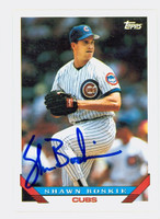 Shawn Boskie AUTOGRAPH 1993 Topps Cubs 