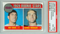 1969 Topps Baseball 244 Indians Rookies PSA 8 Near Mint to Mint