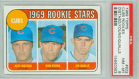 1969 Topps Baseball 602 Cubs Rookies High Number PSA 8 Near Mint to Mint