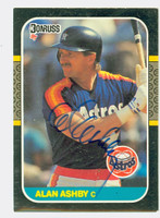 Alan Ashby AUTOGRAPH 1987 Donruss Astros 