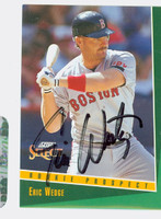 Eric Wedge AUTOGRAPH 1993 Score Select Red Sox 
