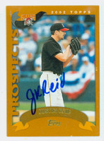Justin Reid AUTOGRAPH 2002 Topps Pirates TRADED 