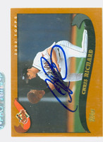 Chris Richard AUTOGRAPH 2002 Topps Orioles 