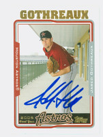 Jared Gothreaux AUTOGRAPH 2005 Topps Astros 