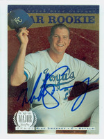 Mike Sweeney AUTOGRAPH 1996 Upper Deck Star Rookie Royals 