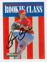Brian Barber AUTOGRAPH 1996 Upper Deck Collectors Choice Rookie Class Cardinals 