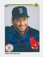 Mike Boddicker AUTOGRAPH 1990 Upper Deck Red Sox 